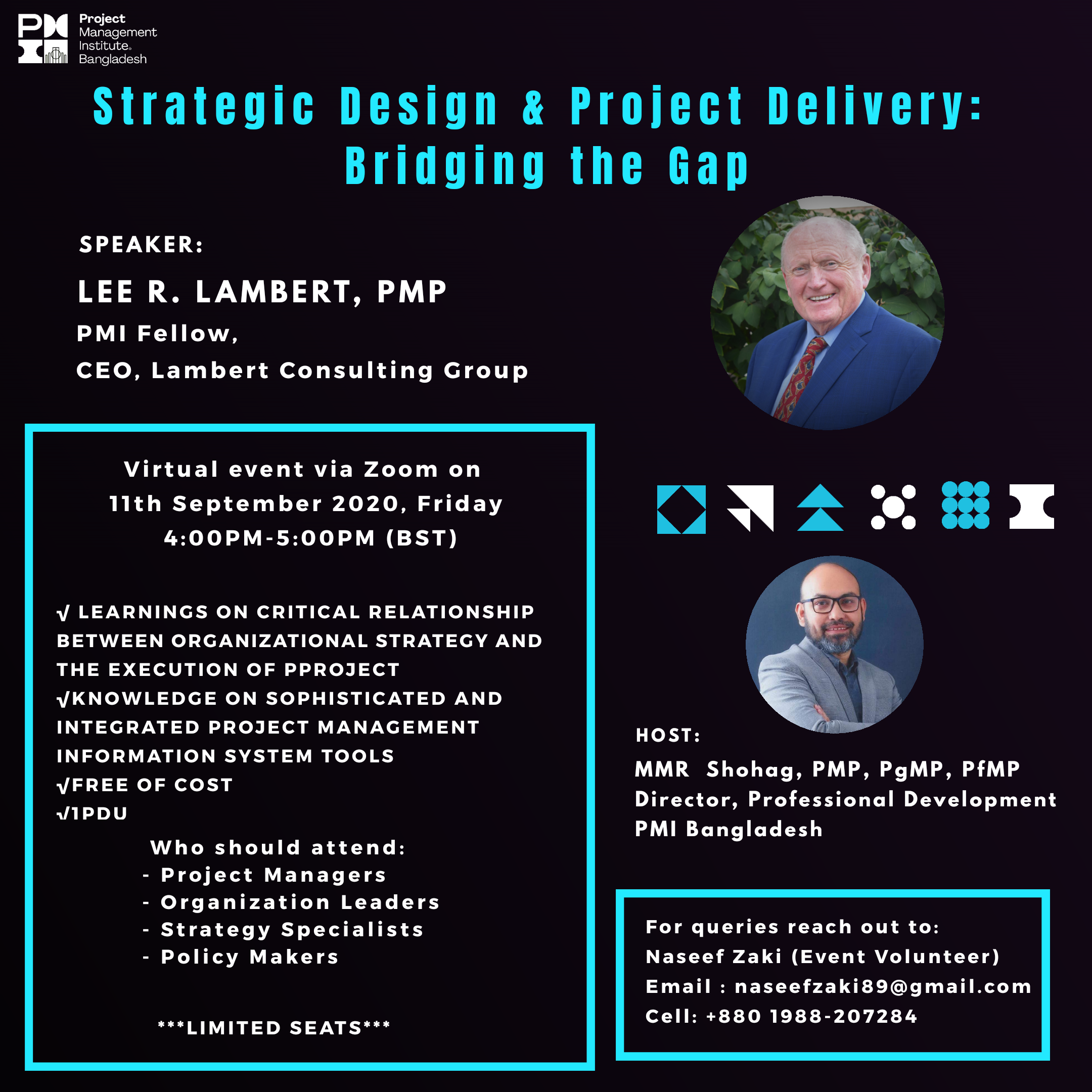 Strategic Design & Project Delivery: Bridging the Gap @ Virtual Event